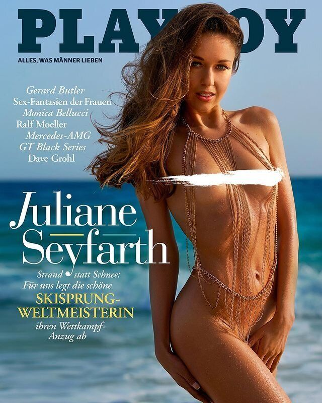 Зайфарт снялась обнаженной для Playboy
