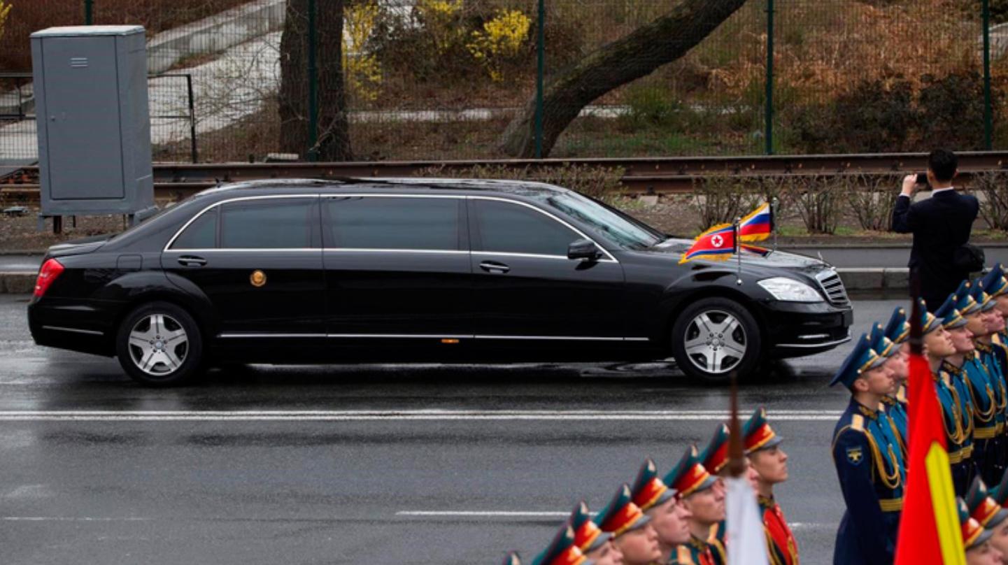 Лідер Північної Кореї їздить на авто з турбомотором і величезним бензобаком
