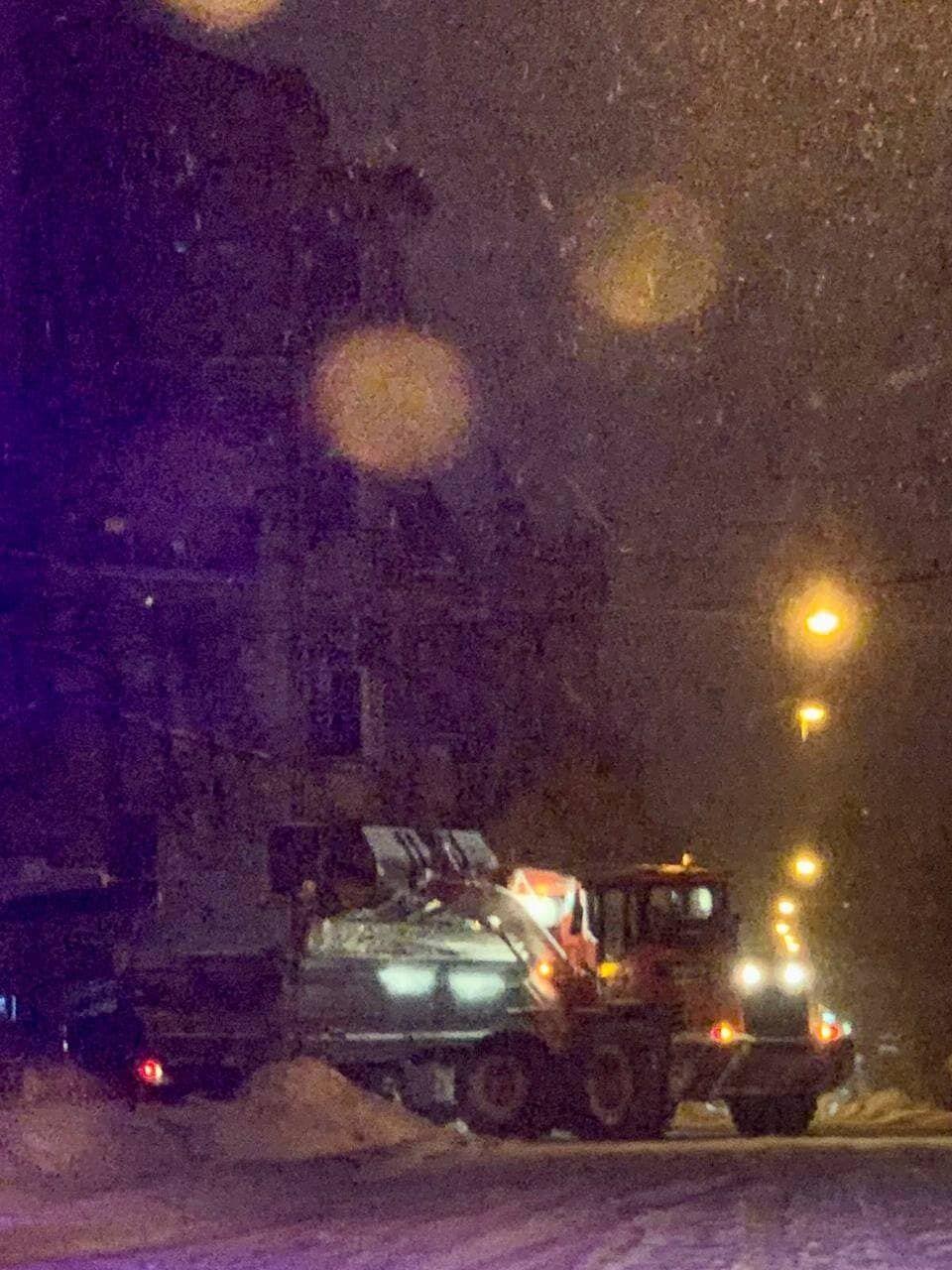Сніговий циклон у Львові
