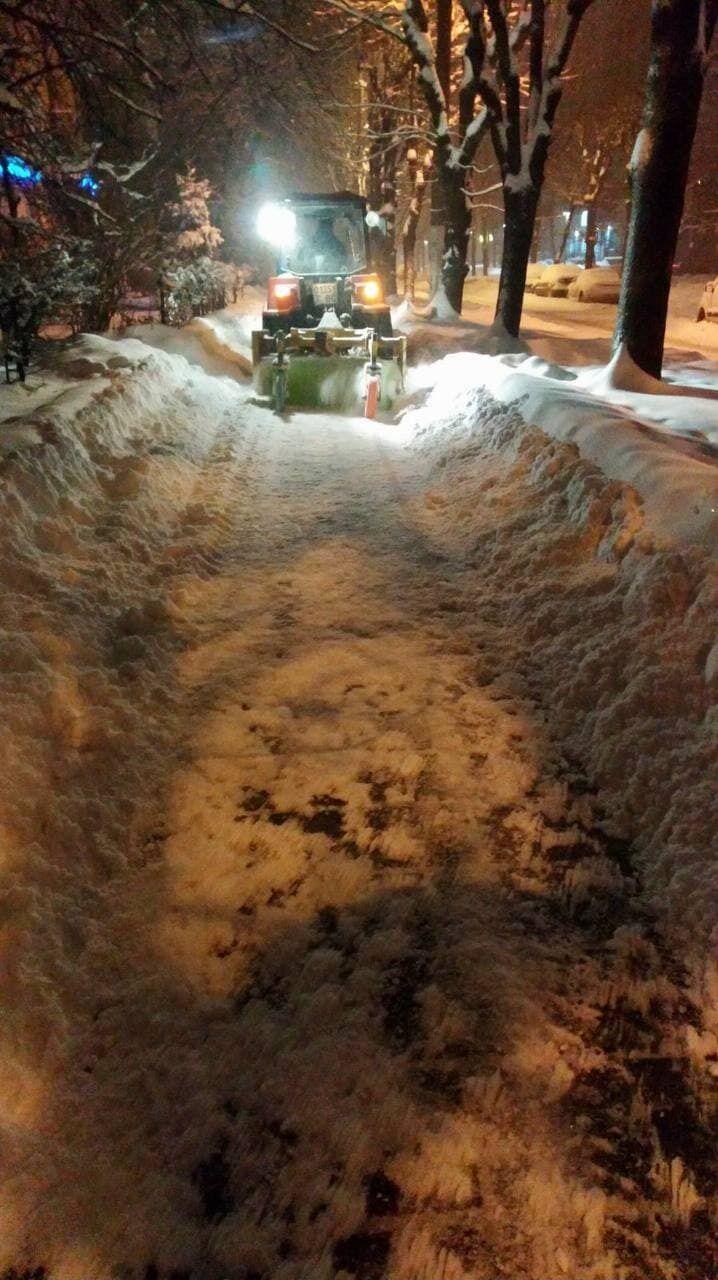 Сніговий колапс у Львові