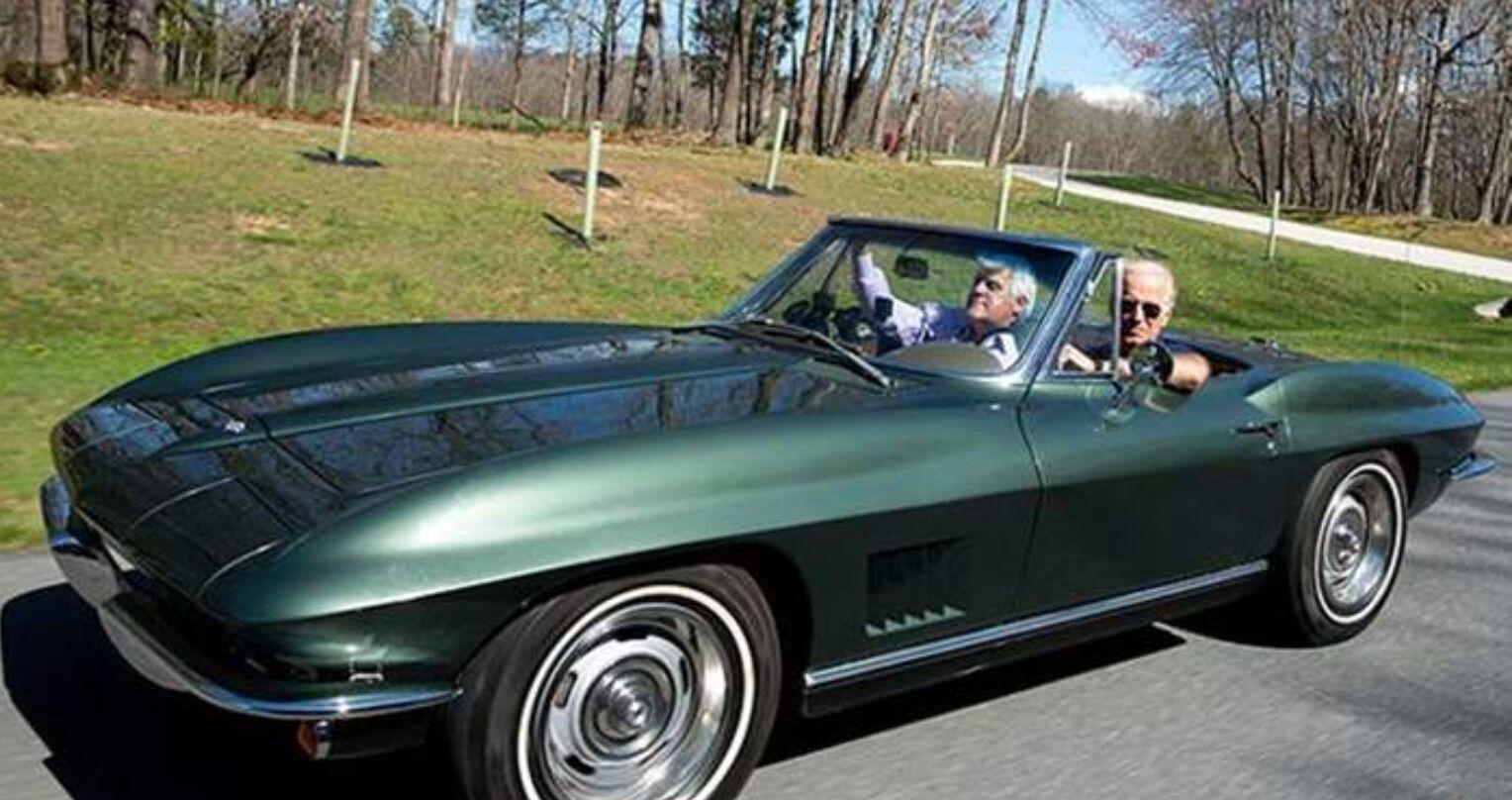 Chevrolet Corvette Stingray 1967 го залишився з Байденом на все життя