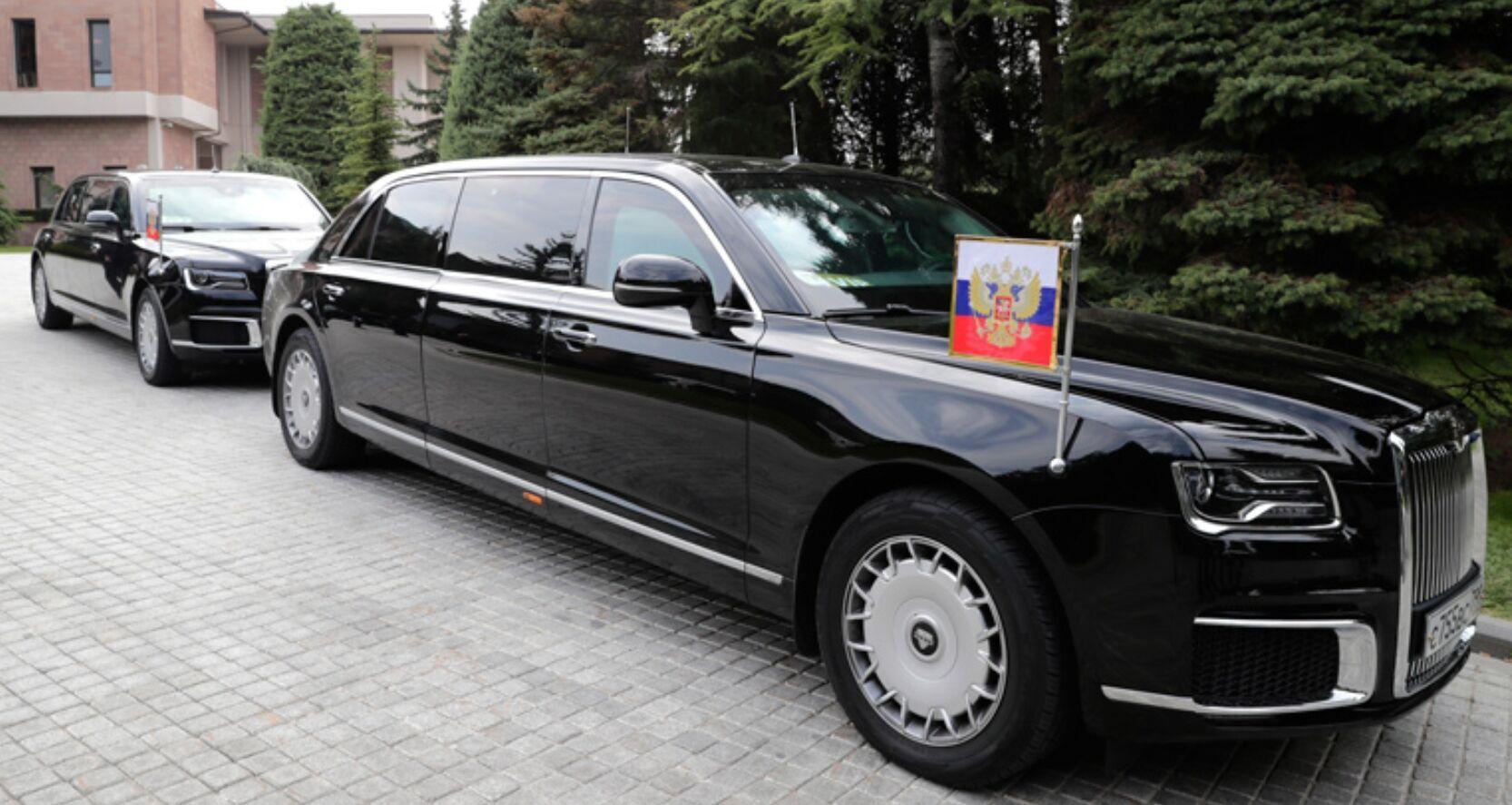 Aurus Senat, на якому їздить президент Росії