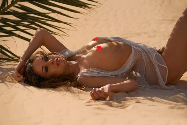 Юліане Зейфарт на піску