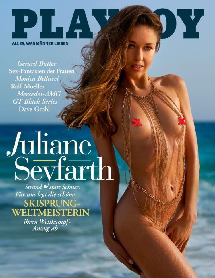 Юліане Зейфарт на обкладинці Playboy