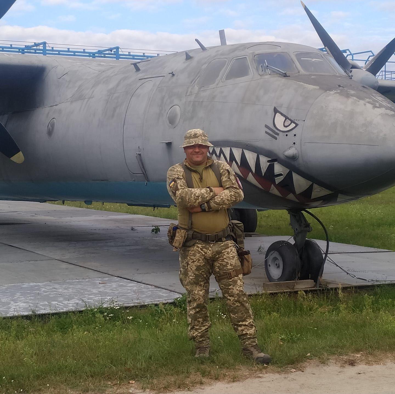 Александр в музее авиации