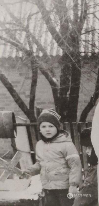 Олександр у дитинстві