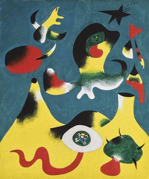 Joan Miró- PEINTURE (L'AIR)