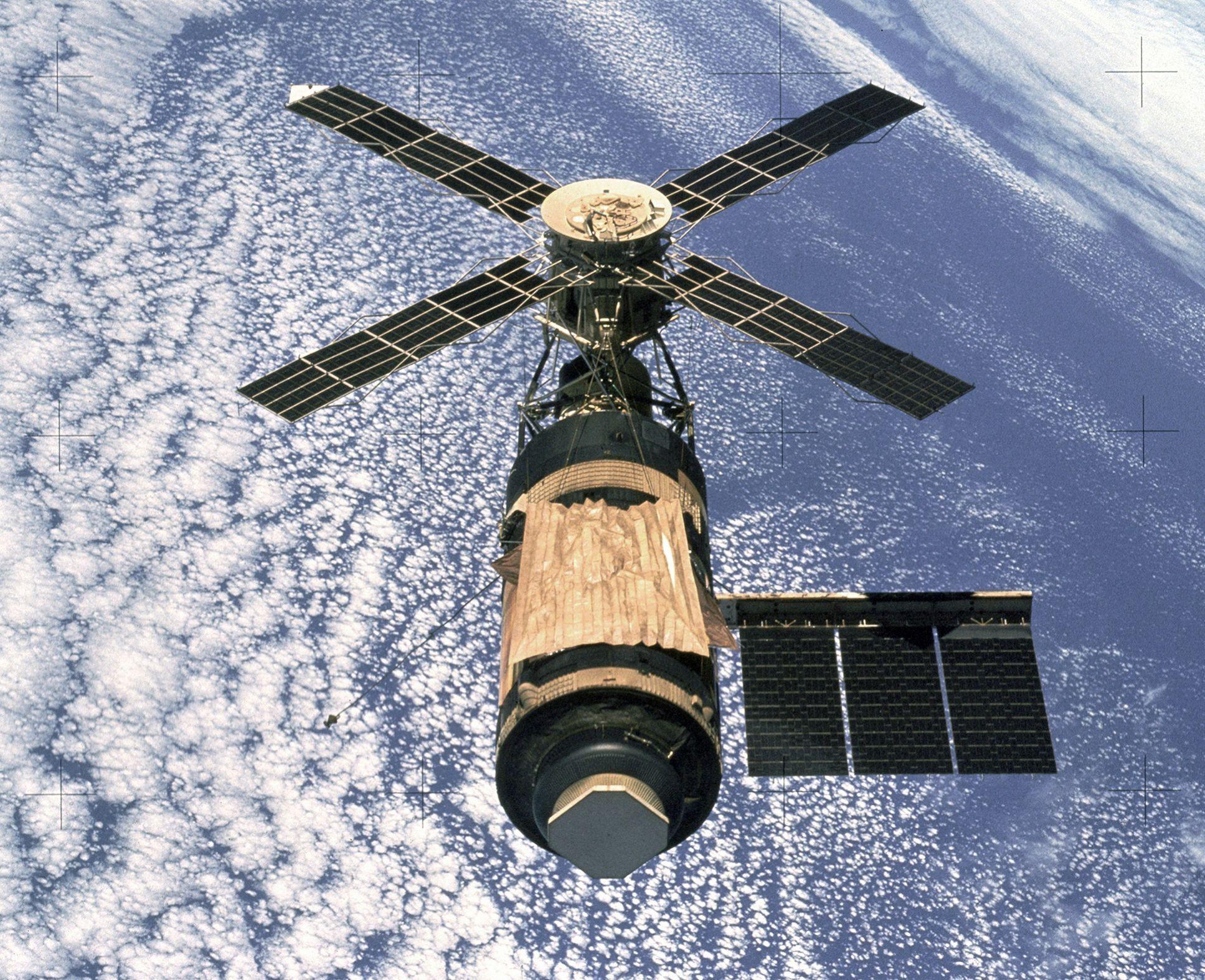 Skylab в космосе, 1973 г.