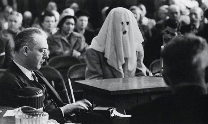 Фото заседания в Вашингтоне,1952 год.