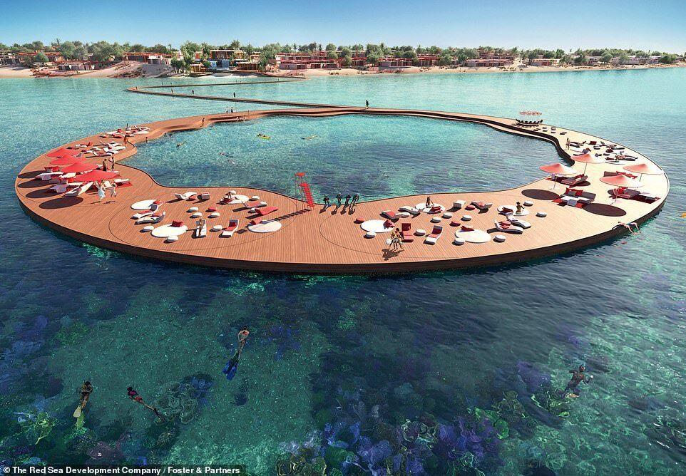 Курорт у вигляді дельфіна
