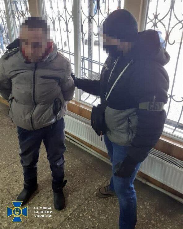 Затримання агента ФСБ РФ