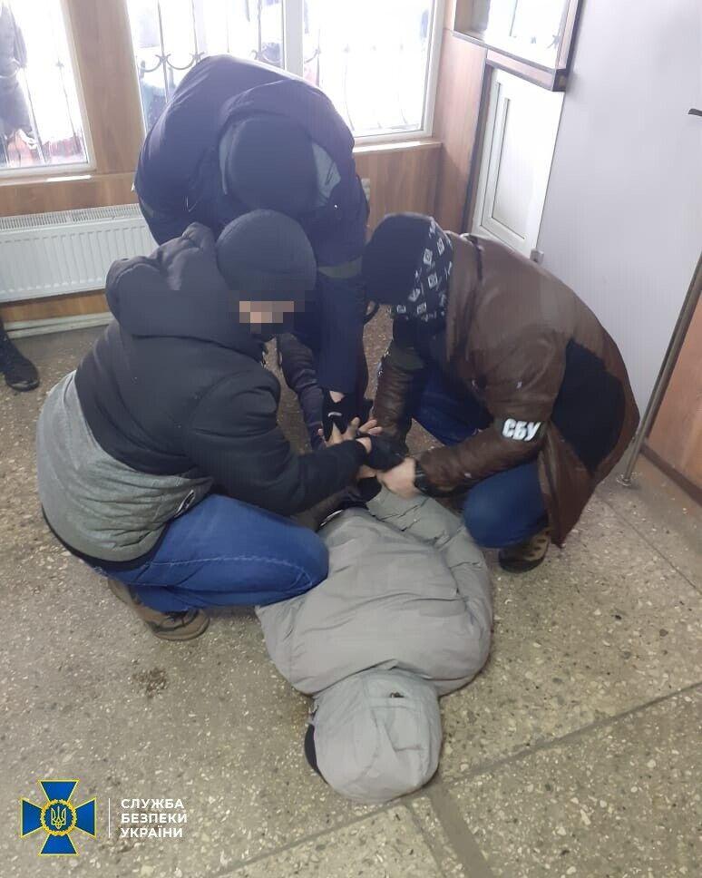 Затримання агента ФСБ РФ контррозвідниками СБУ