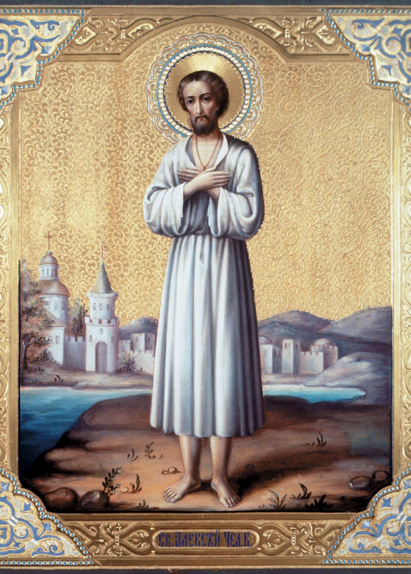 30 марта – день памяти преподобного Алексия, человека Божия