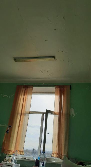 Состояние палаты в Симферопольской клинической больнице.