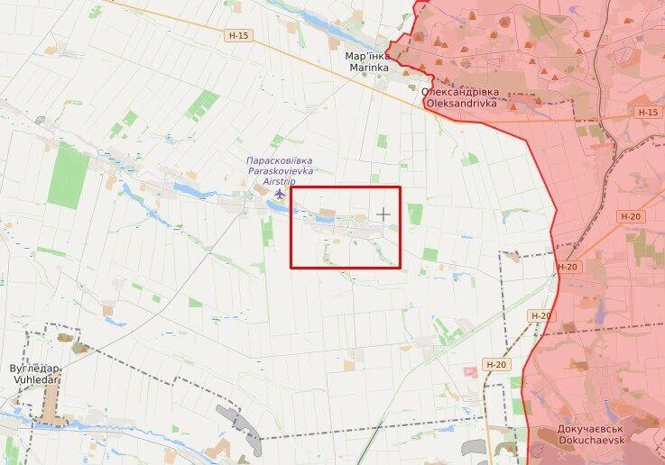Окупанти відкрили вогонь по ЗСУ в районі Новомихайлівки.