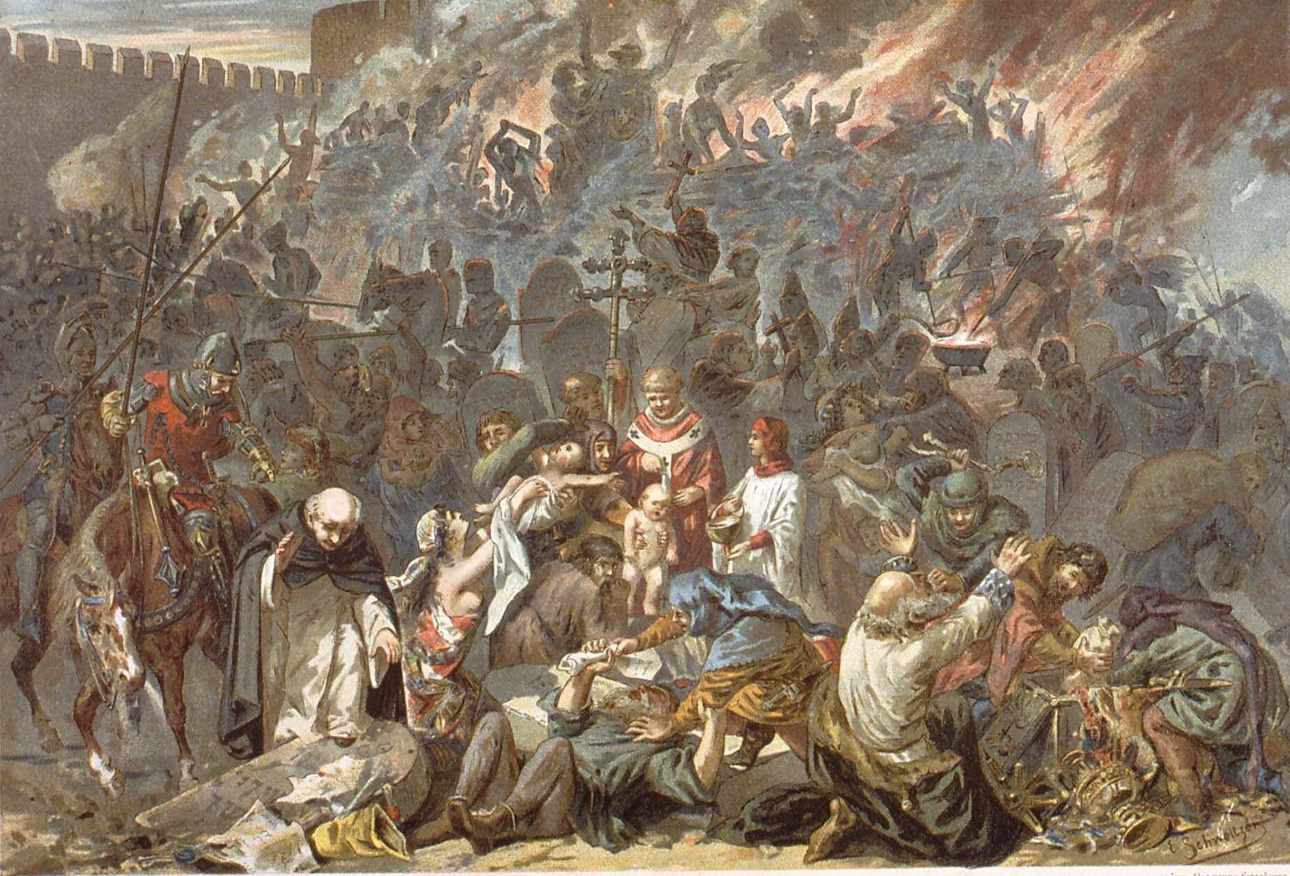 Еврейский погром в Страсбурге. Эмили Швайтцер
