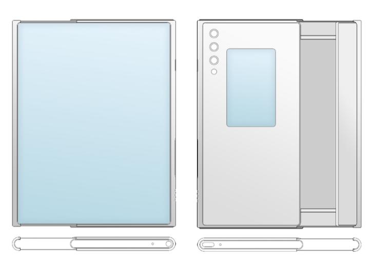 Розроблено смартфон із розсувним дисплеєм і другим екраном. Фото