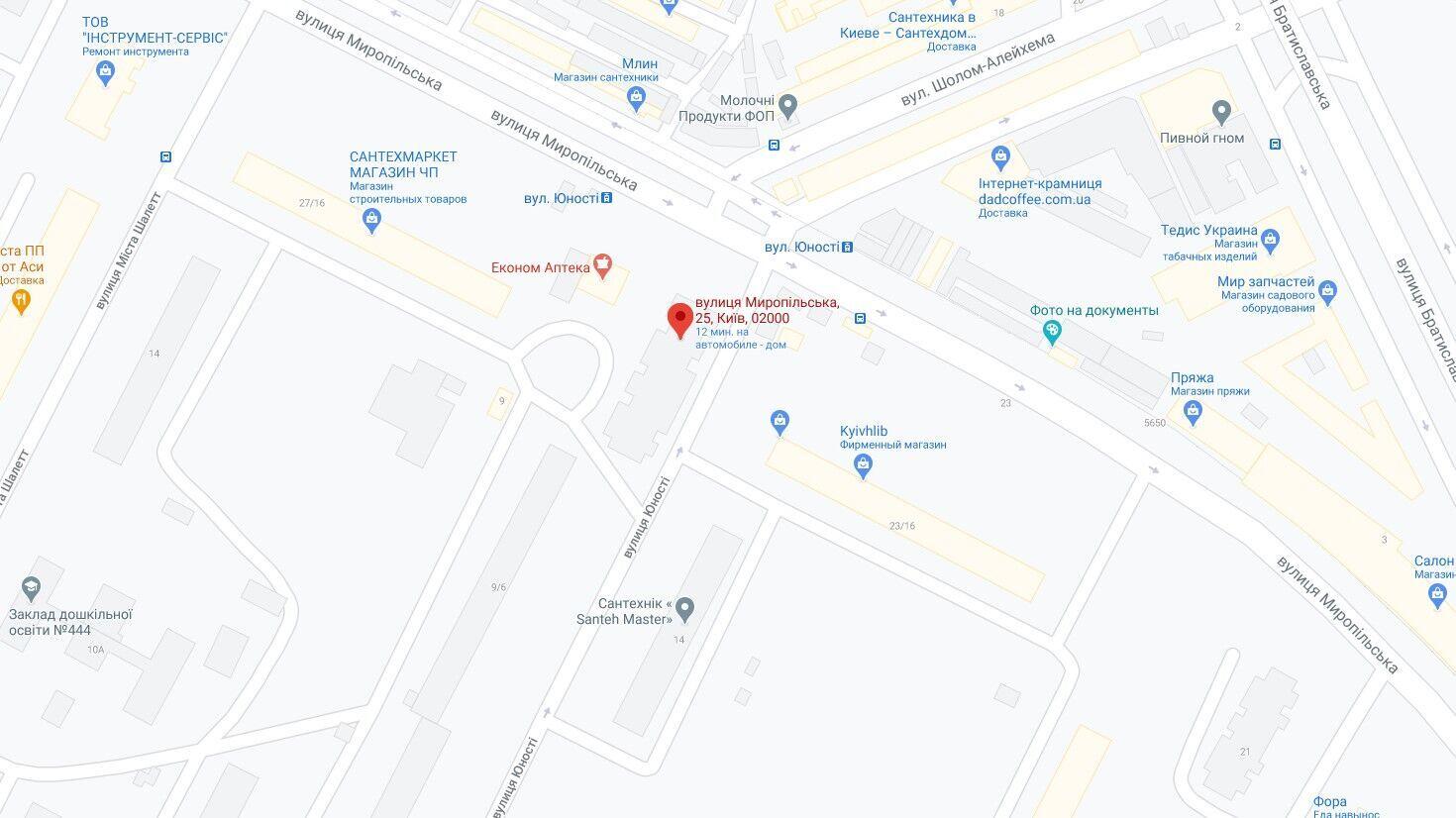 Пожар произошел в Днепровском районе .