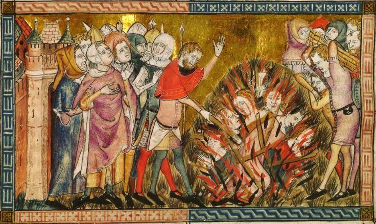 Страсбургская резня 14 февраля стала одним из наиболее кровавых прецедентов еврейских погромов позднего Средневековья