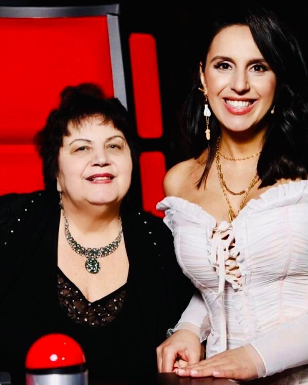 Джамала с мамой.