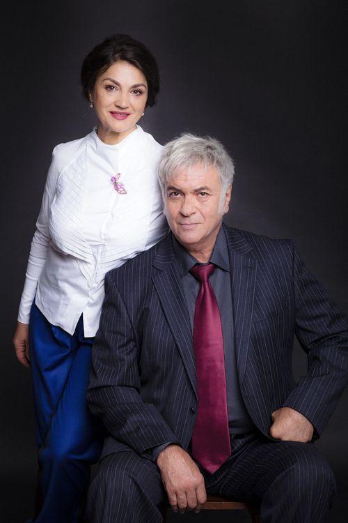 Наталья Сумская и Анатолий Хостикоев.