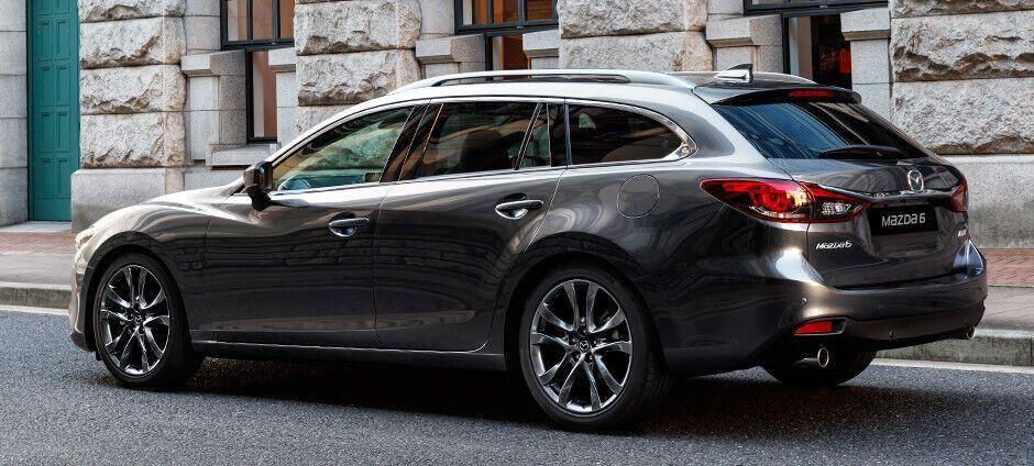 Універсал Mazda 6 – класичний представник сегмента