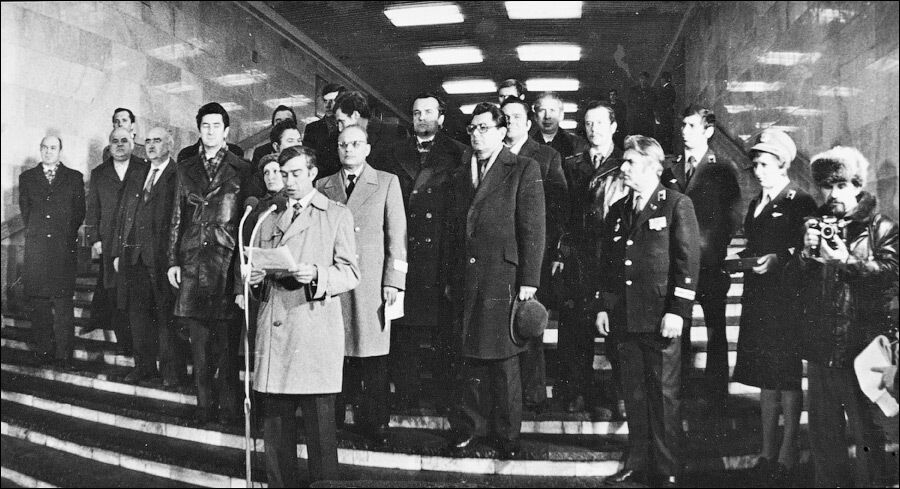 Ключовими фігурами на відкритті були звичайні працівники метро.