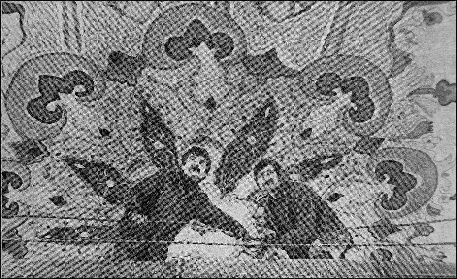 Творці розпису – брати Василь та Степан Хімочки.