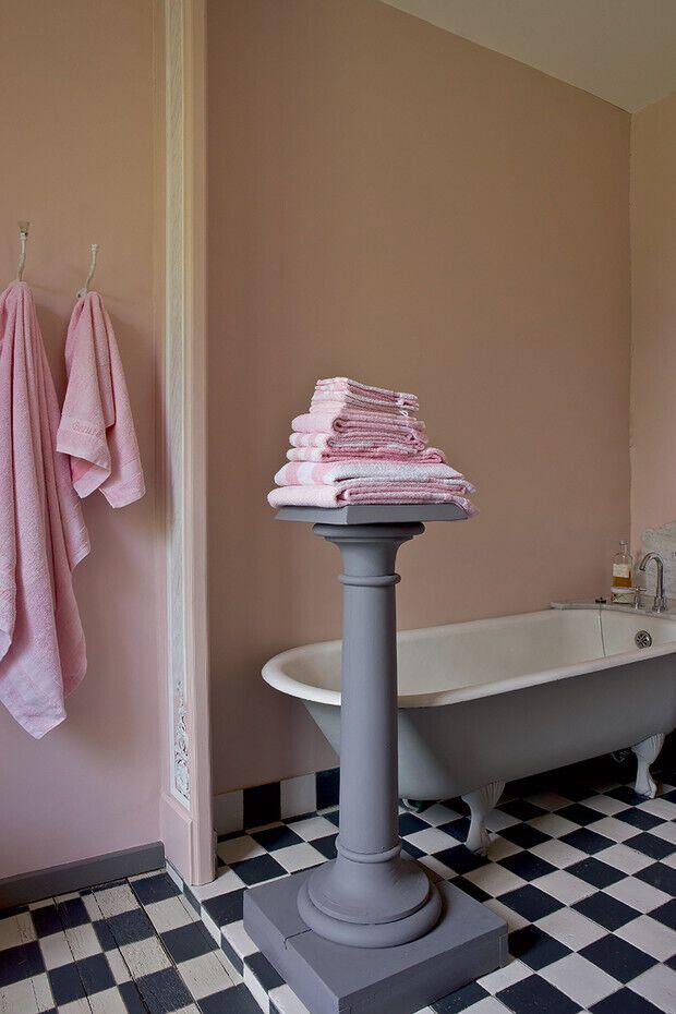 Ванная комната в доме Томасс