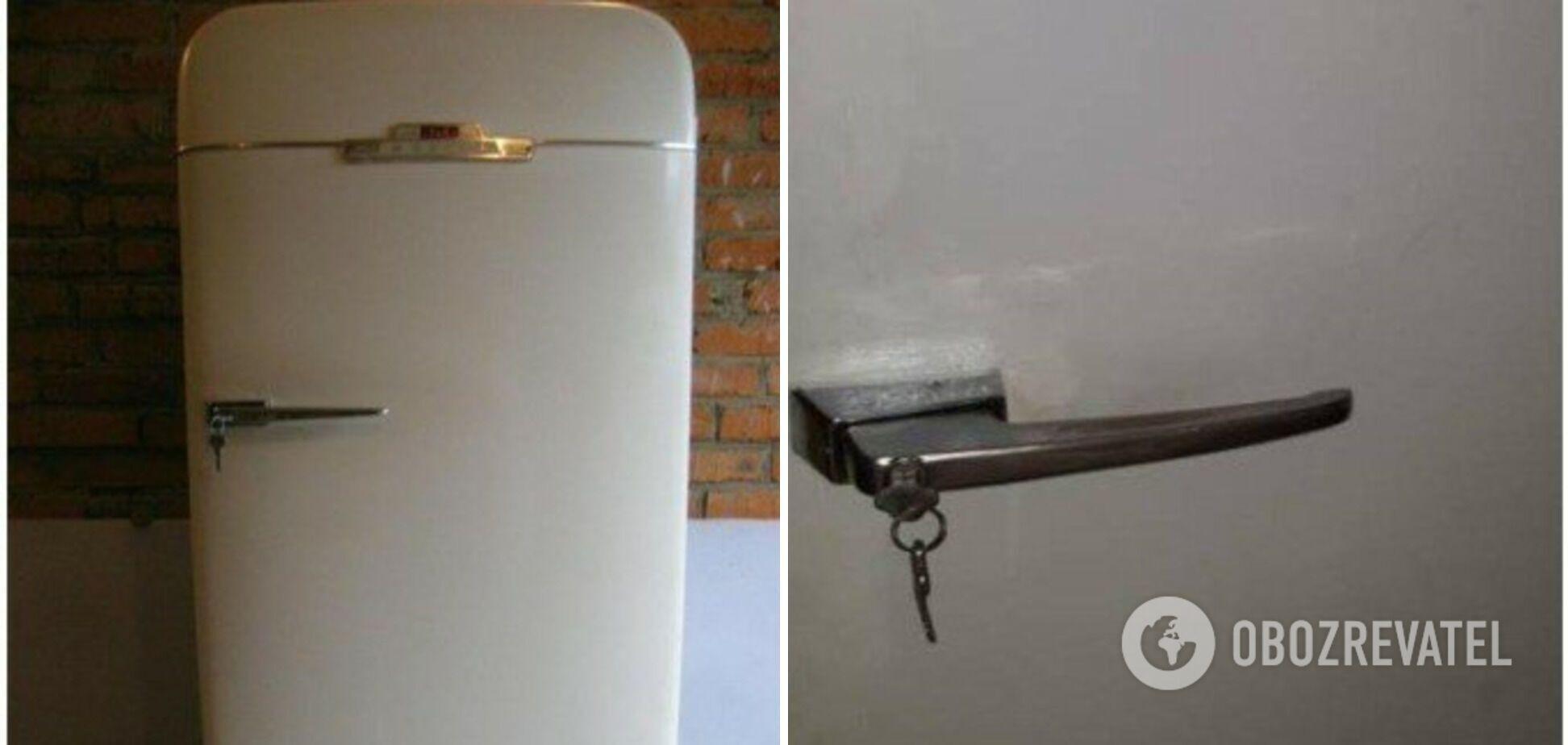 Холодильники в СССР делали с замком в ручке