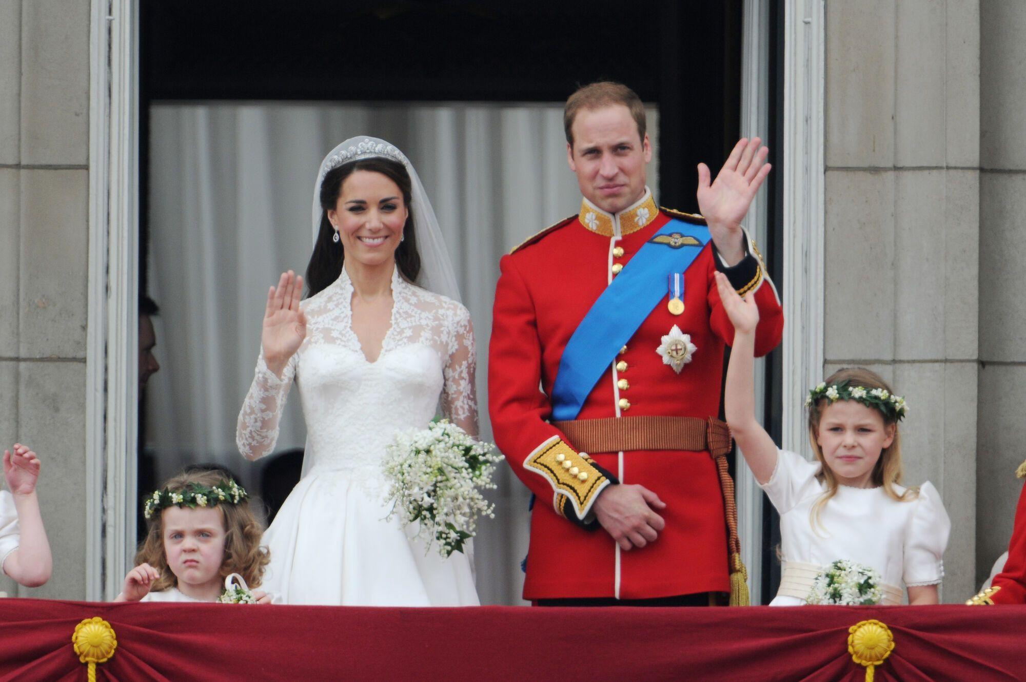 Кейт Миддлтон и принц Уильям вступают в брак