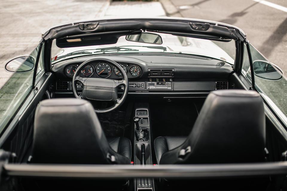 Салон Porsche 911