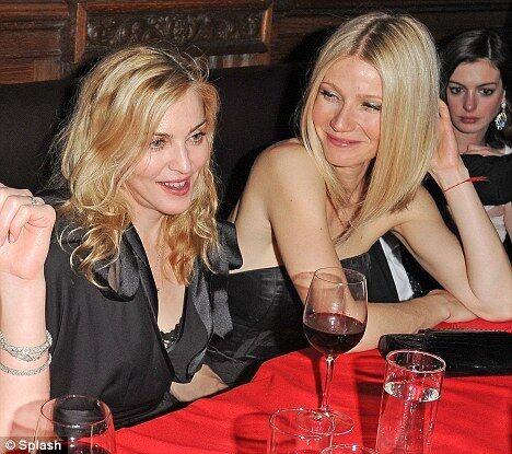 Мадонна і Гвінет Перлоу товаришують вже 20 років.