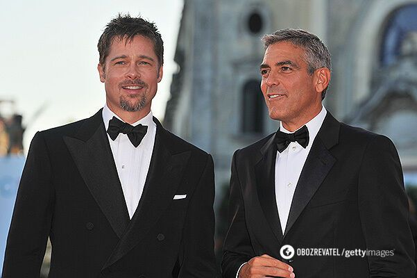 Бред Пітт і Джордж Клуні потоваришували під час зйомок ще у 2001 році