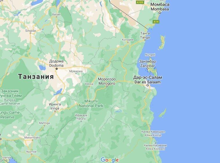 Около 180 украинских туристов застряли на Занзибаре.