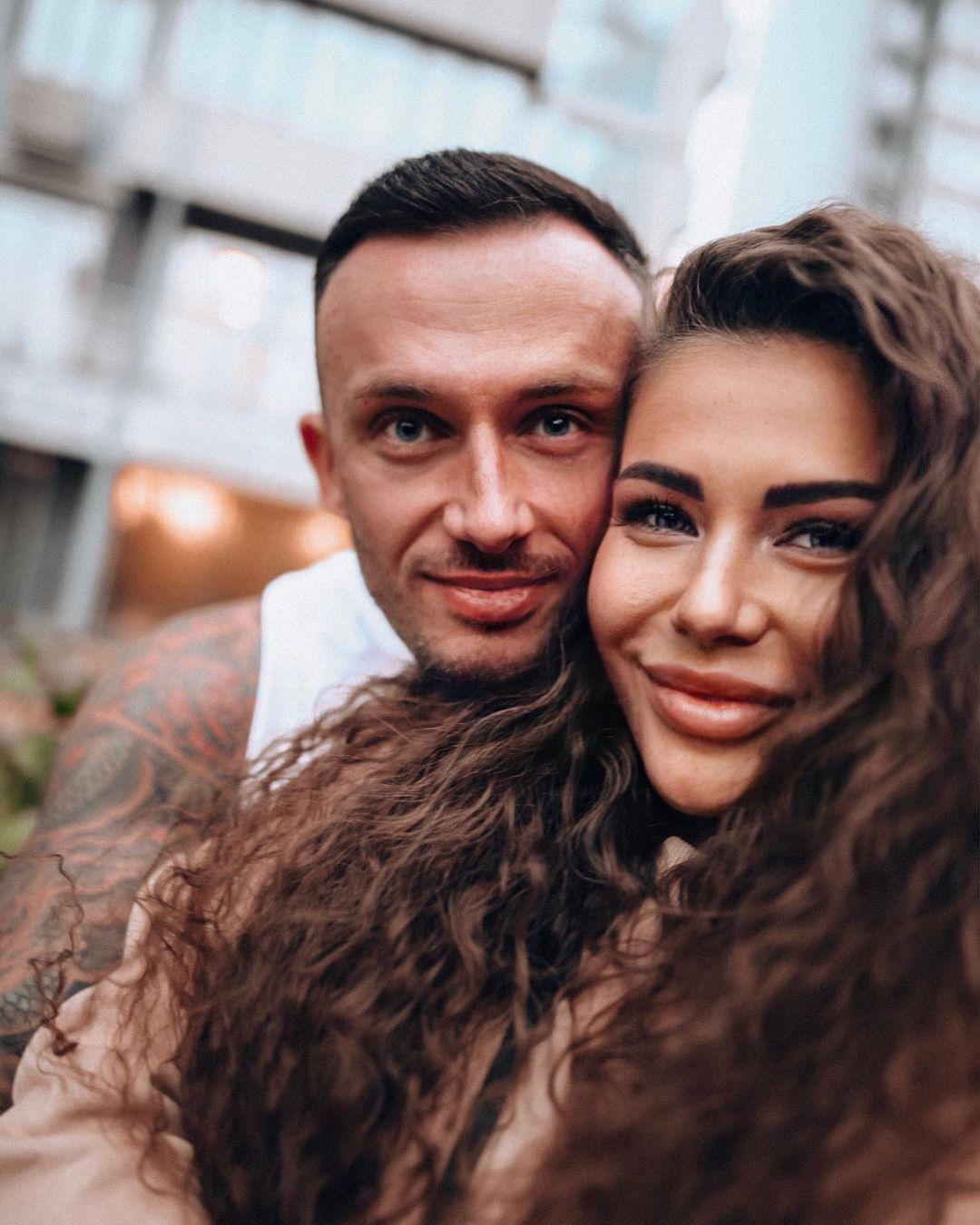 София Стужук с мужем Дмитрием
