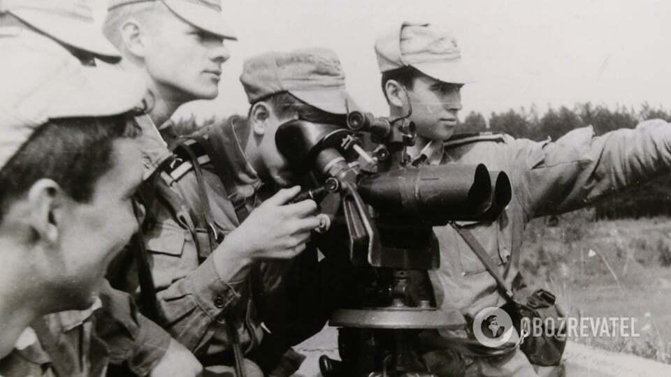 Олександр Войтенко (праворуч) під час навчання