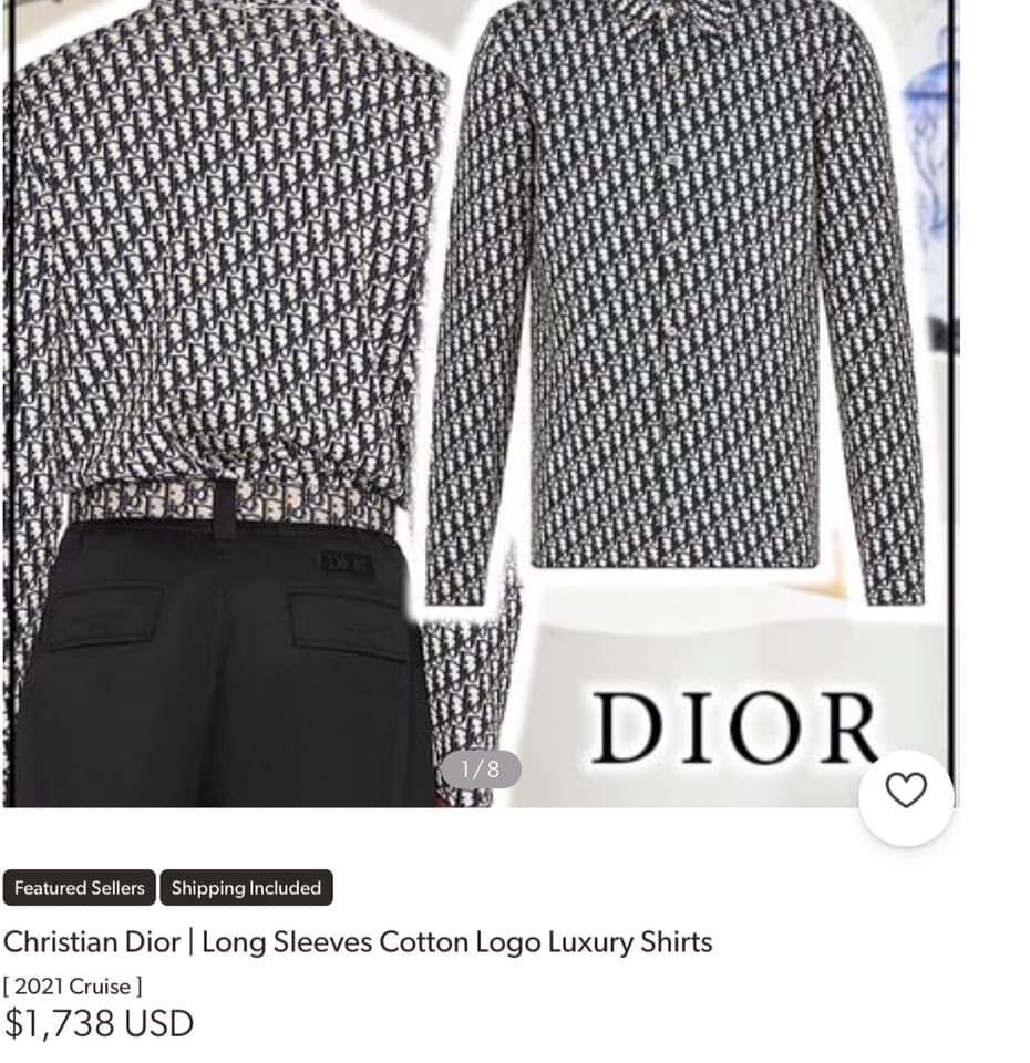 Сорочка від Dior