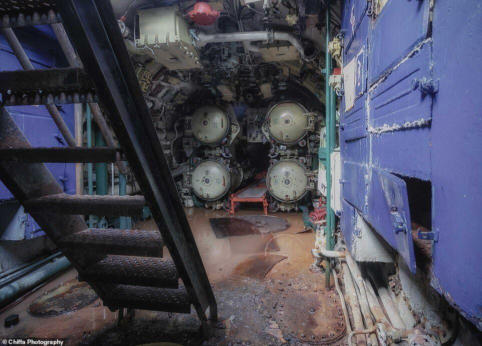 Снимки советской подводной лодки
