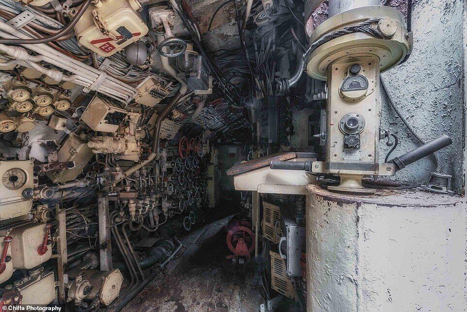 Cоветская подводная лодка