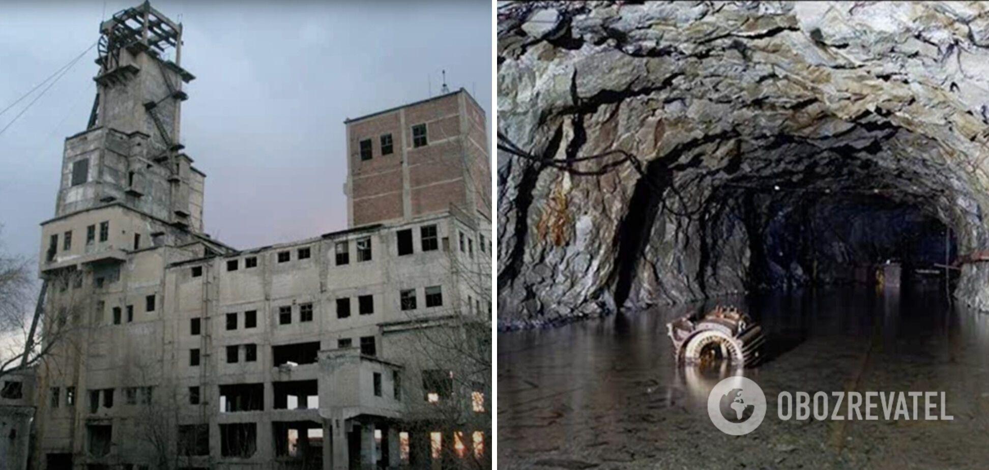 """В 1979 году советская власть провела ядерный взрыв на территории шахты """"Юнком"""". Из нее откачивали воду в целях безопасности, но в 2018-м оккупанты перестали это делать"""