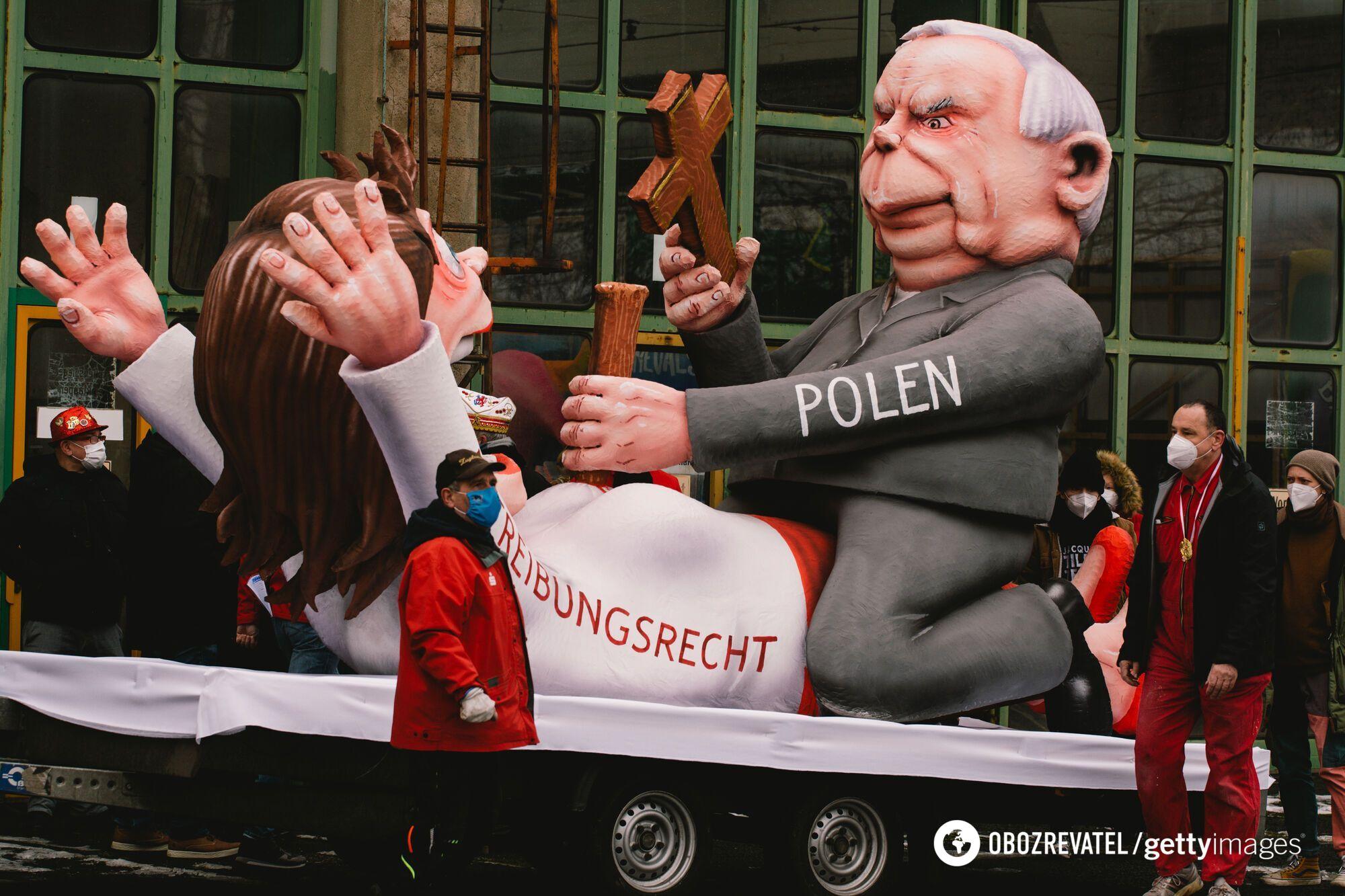 Парад фигур в Германии