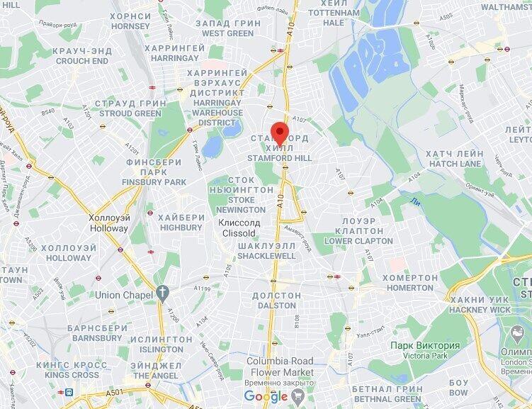 У районі Стемфорд-хілл проживає найчисленніша спільнота хасидів у Європі.