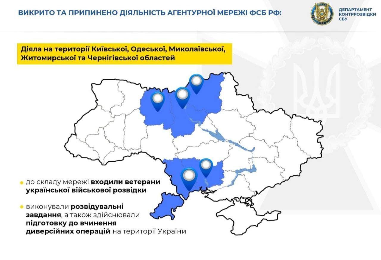 Опубликованы наиболее резонансные дела СБУ в регионах в феврале