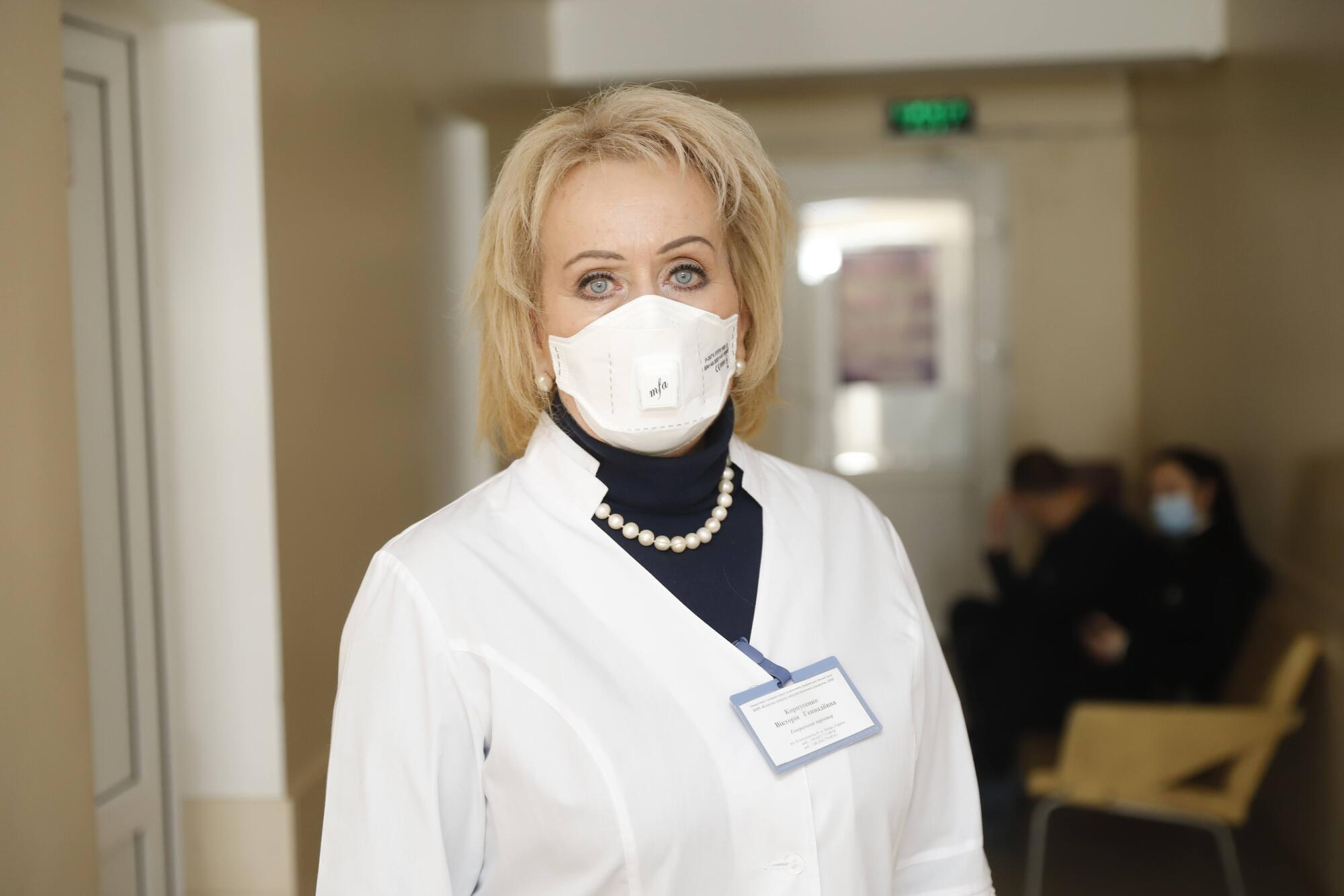 Генеральный директор клинической больницы скорой медицинской помощи Виктория Корпусенко