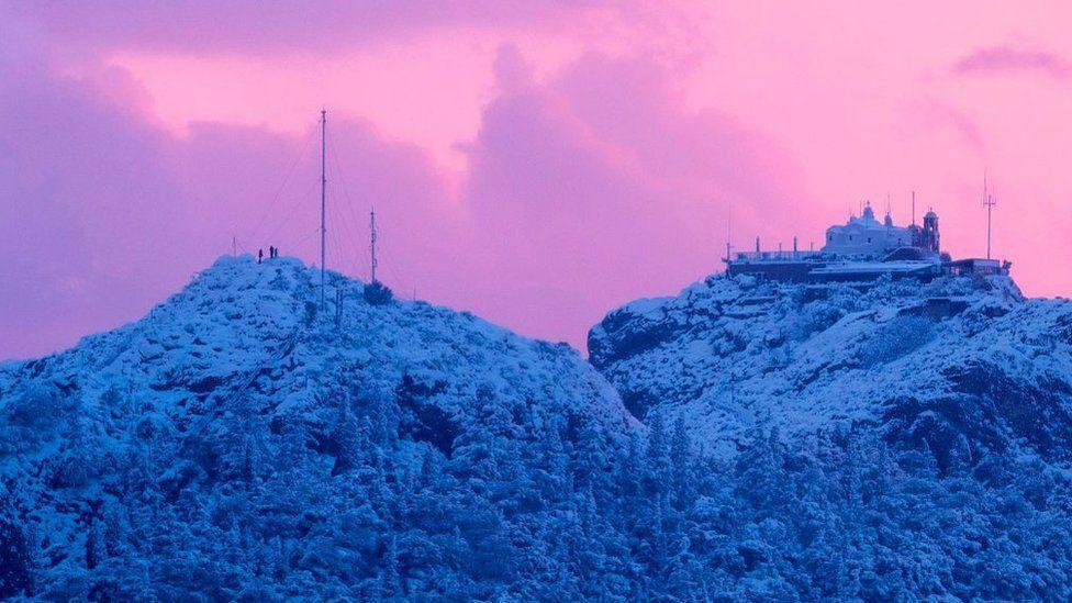 Небо над пагорбом Лікавіт