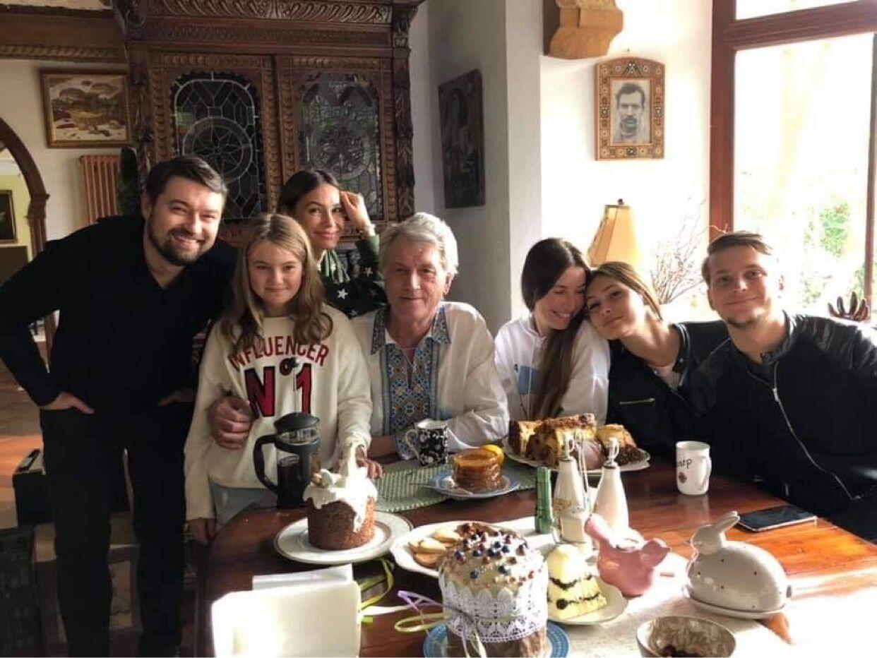 Семья Ющенко