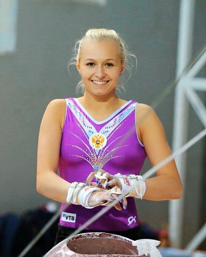 Дарья Спиридонова на соревнованиях