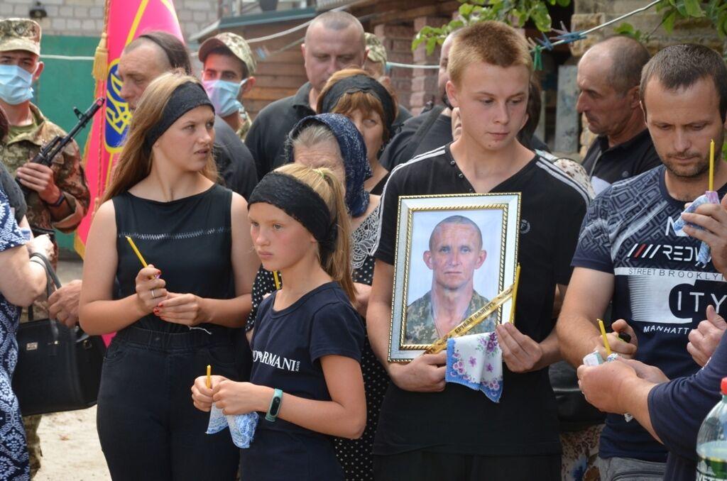 Син та донька загиблого розвідника Ярослава Журавля.