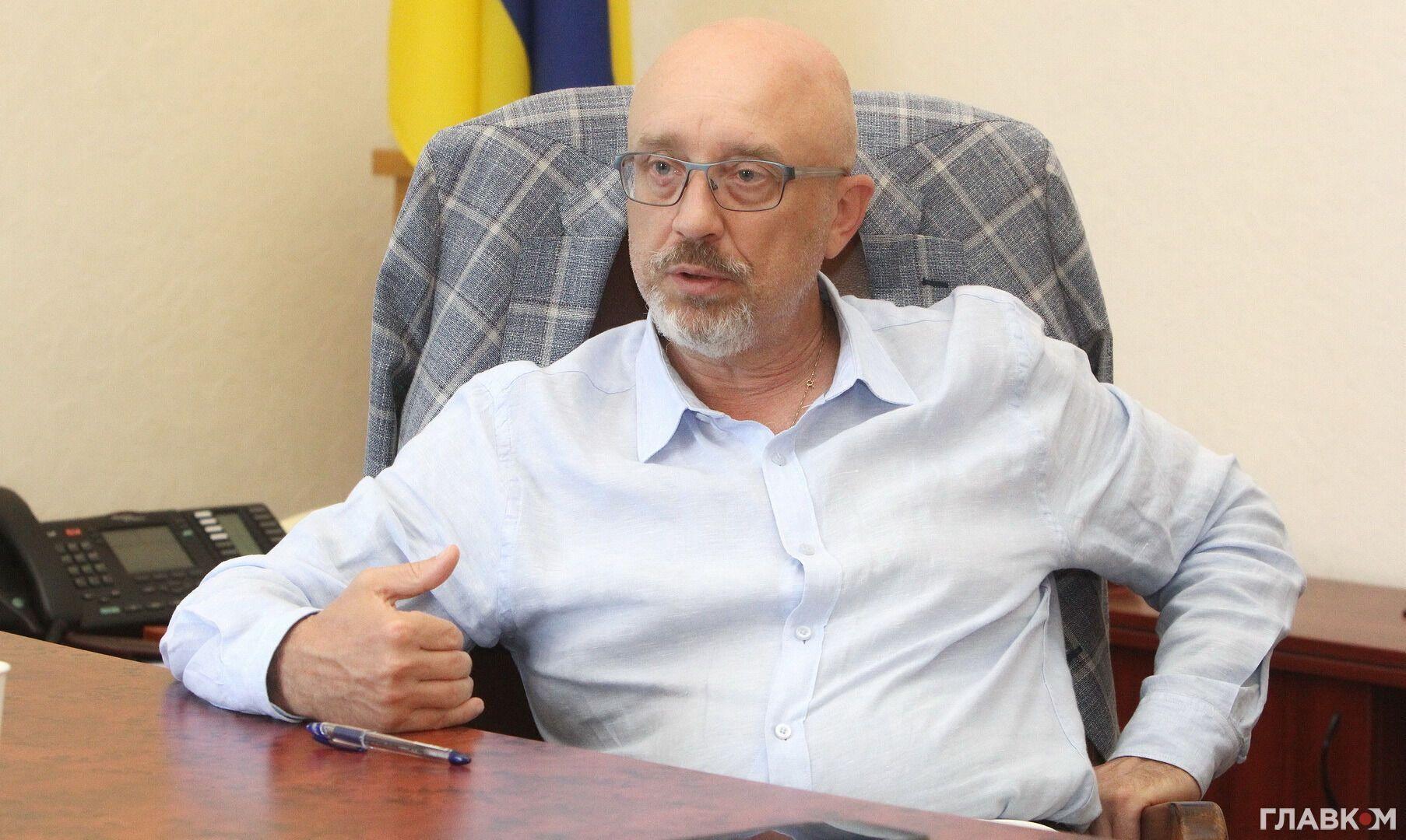 Резніков розповів про вартість відновлення Донбасу
